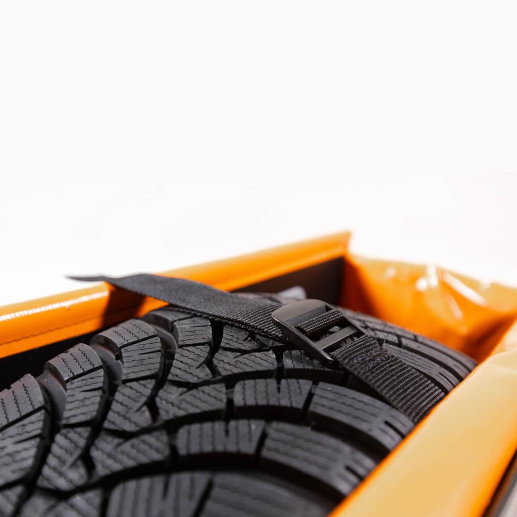 Rad in Tyrepack Detailansicht