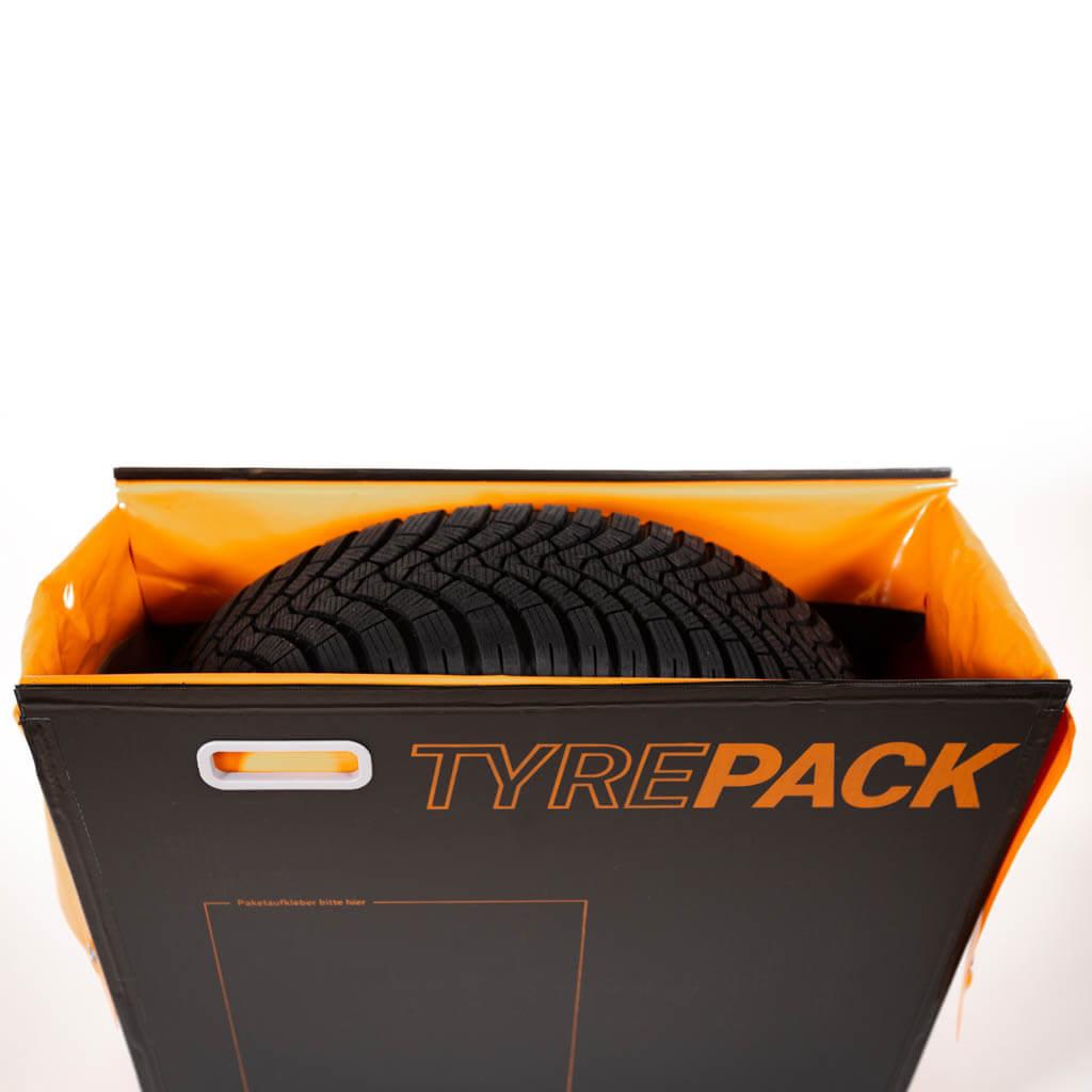 Rad in Tyrepack Frontansicht