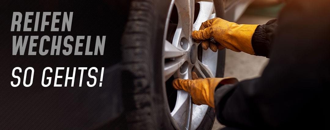Radwechsel: So funktioniert das Reifen wechseln
