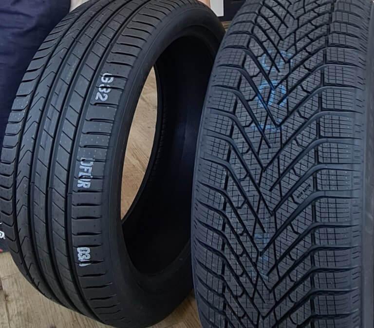 Reifenprofile im Vergleich
