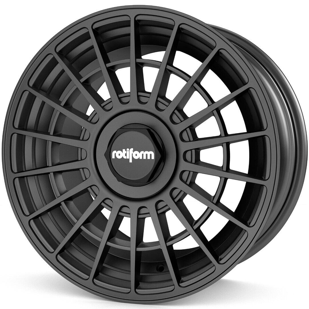 Rotiform LAS-R schwarz matt