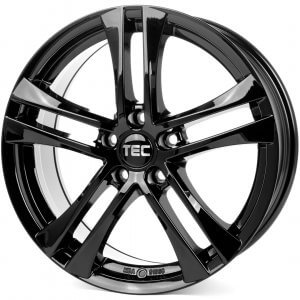 Tec Speedwheels AS4 Evo schwarz-glanz