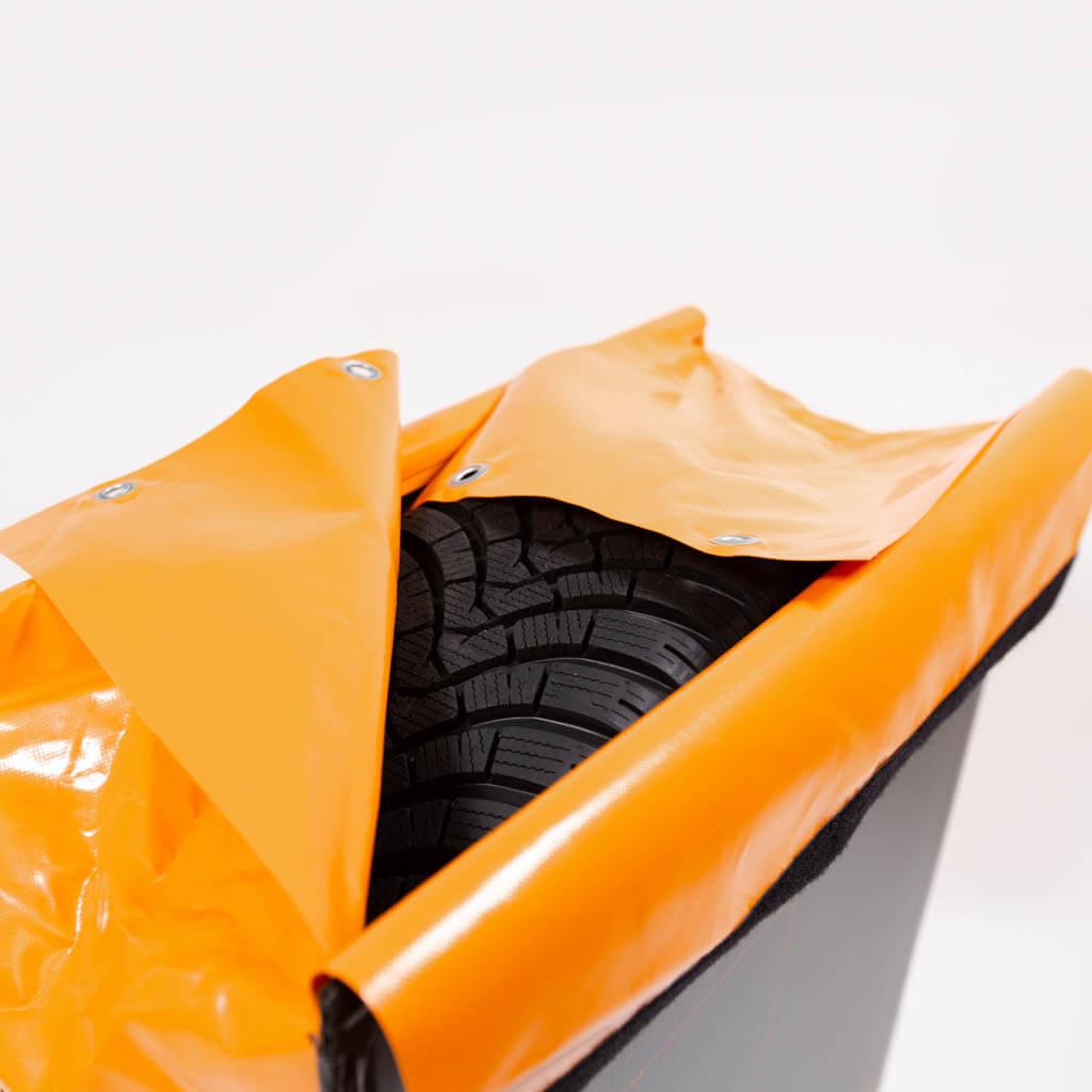 Tyrepack verschließen
