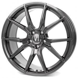 V1 Wheels V1 daytona grau lackiert