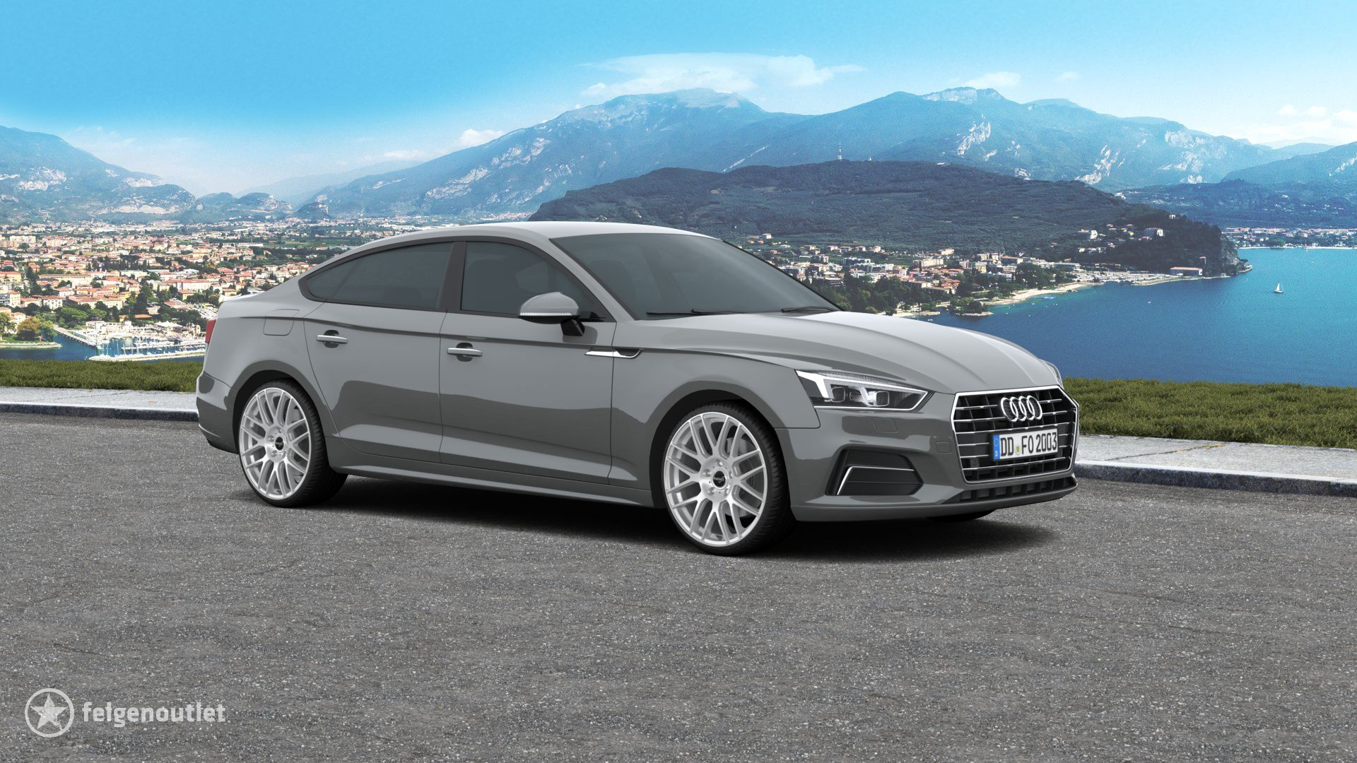 Wheelworld WH26 RS Audi A5 Sportback