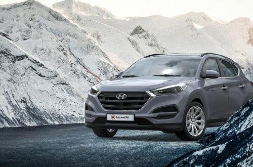 Günstig und stylisch: wintergeeignete Felgen und Kompletträder von felgenoutlet - CMS C22 SR auf grauem Hyundai