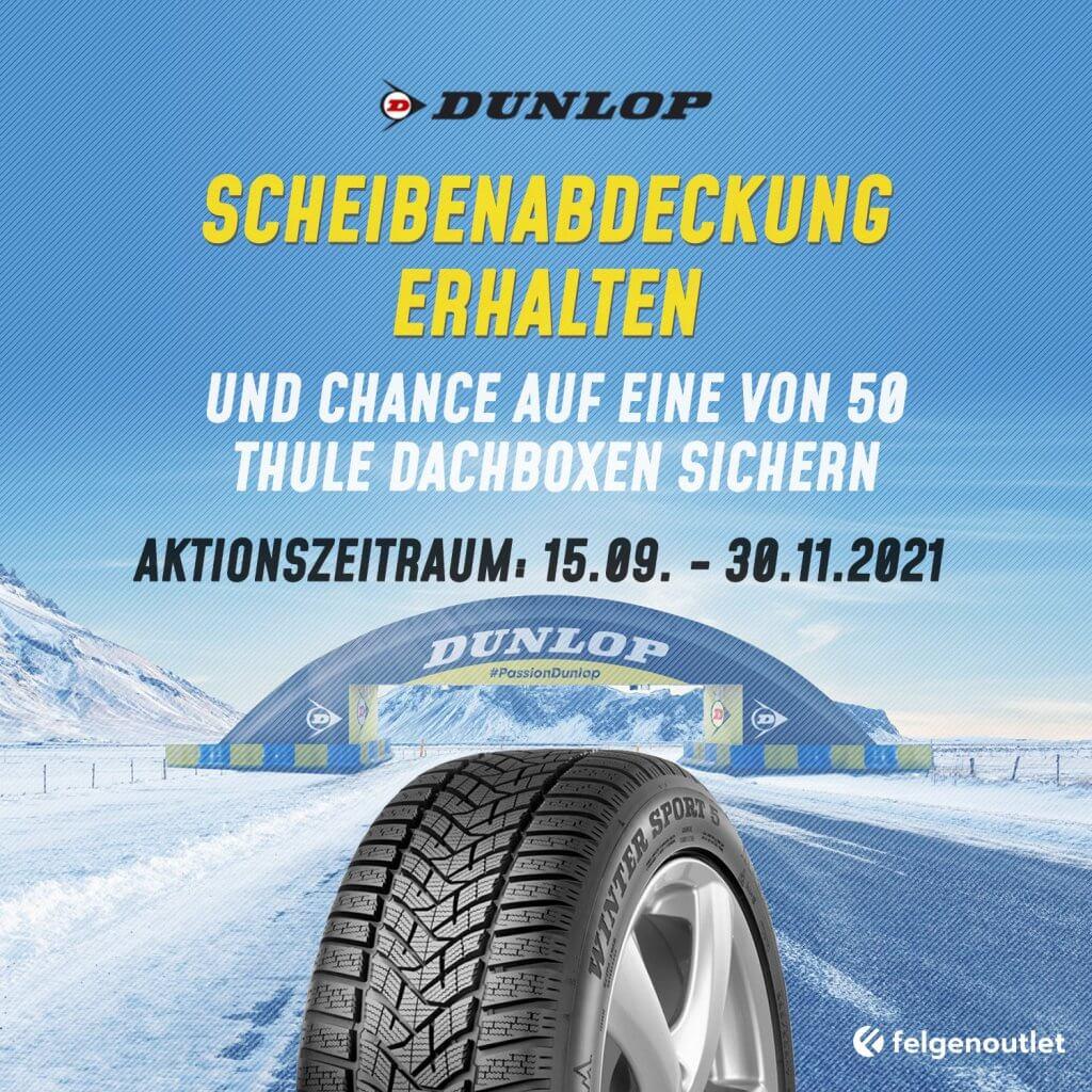 Reifenaktion Dunlop