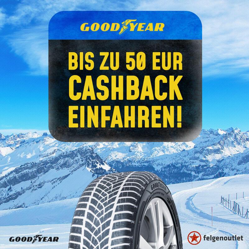 Goodyear Cashback-Reifenaktion
