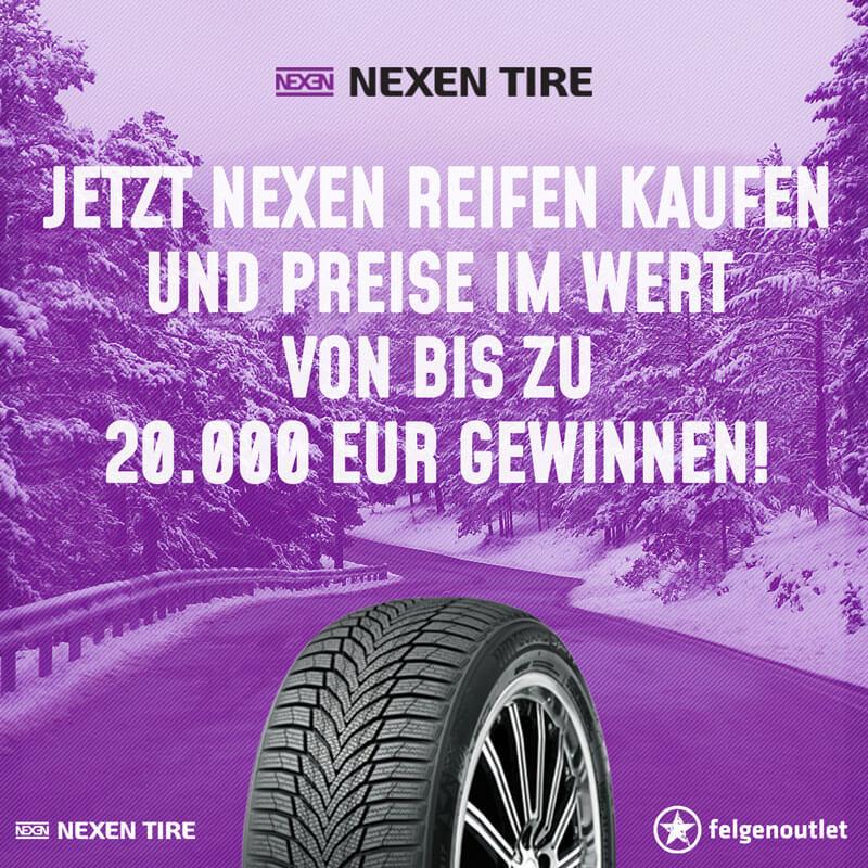 Nexen Tire Gewinnspiel-Reifenaktion