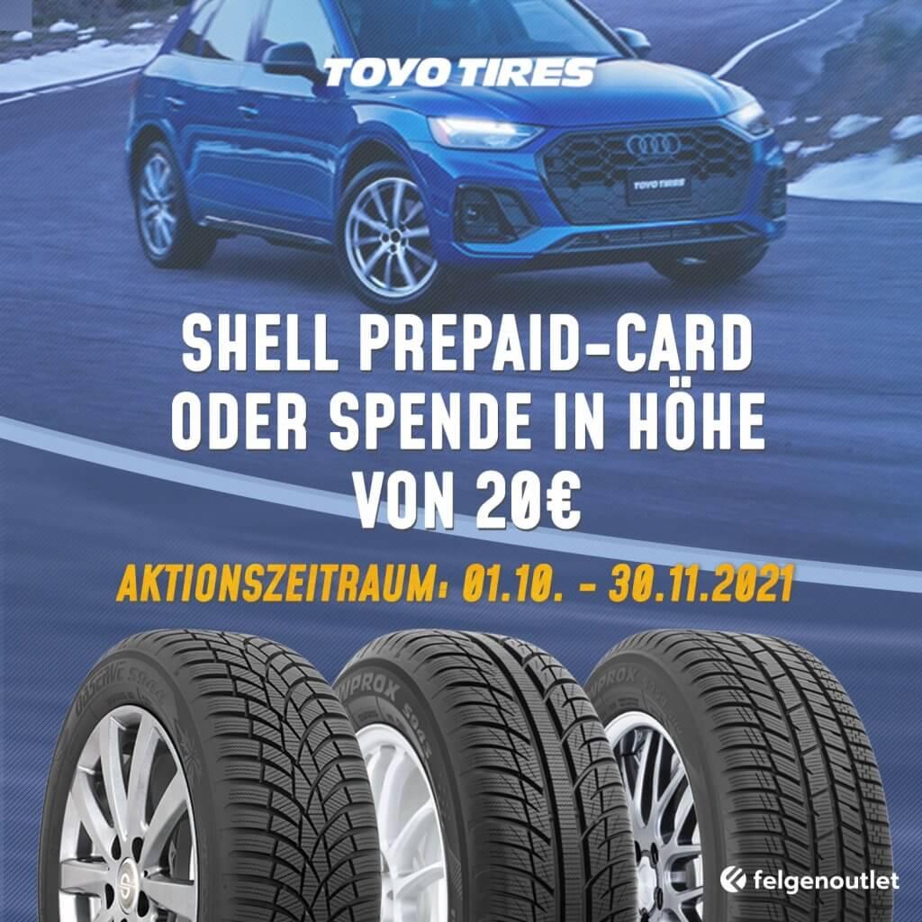 Reifenaktion Toyo Tires