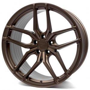 Z-Performance ZP2.1 flowforged matte carbon bronze