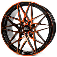 MAM B2 black front orange