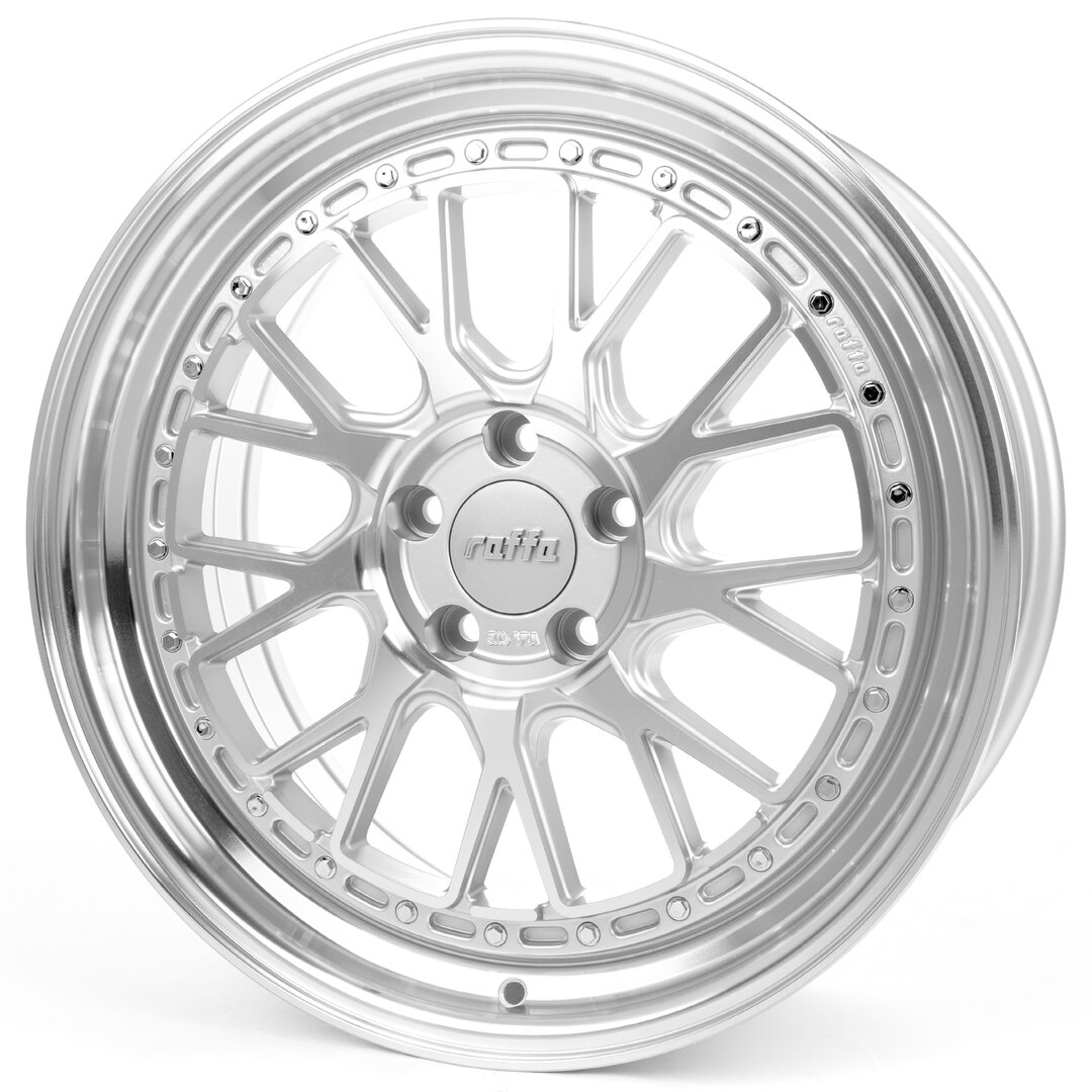 Raffa Wheels RS-03 Silver-Polish