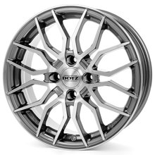 Dotz LimeRock Gunmetal polished
