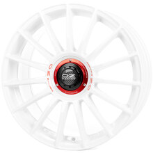 OZ Superturismo Evoluzione WRC Race White + Red Lettering