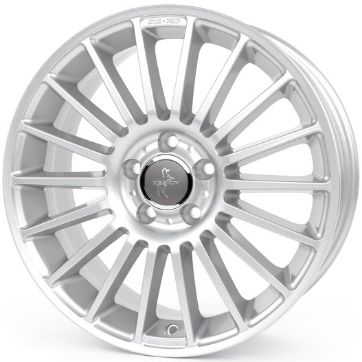 Keskin KT15 Speed silver painted