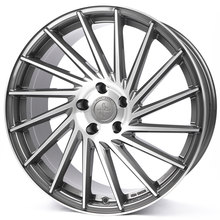 Keskin KT17 Hurricane palladium front polished