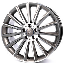 Keskin KT18 Turbo palladium front polished