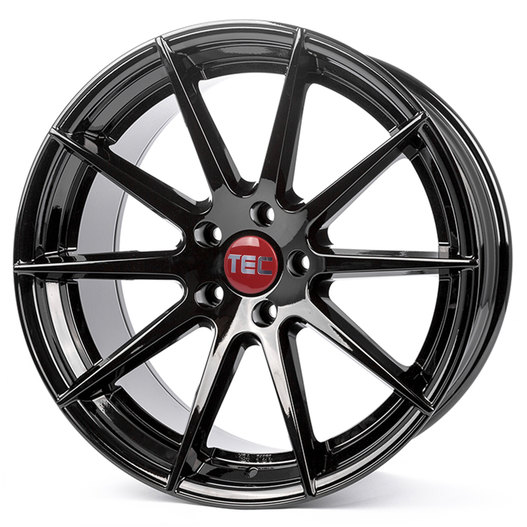 Tec Speedwheels GT-7 Gloss Black