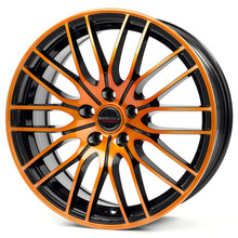 Borbet CW 4 black orange glossy