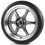 Borbet DB8GT graphite rim polished
