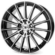 R³ Wheels R3H07 black-polished