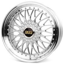 BBS Super RS brillantsilber diamantgedreht