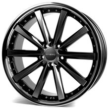 Corspeed Arrows Highgloss-Black polished inox lip