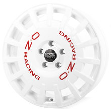 OZ Rally Racing Race White + Red Lettering