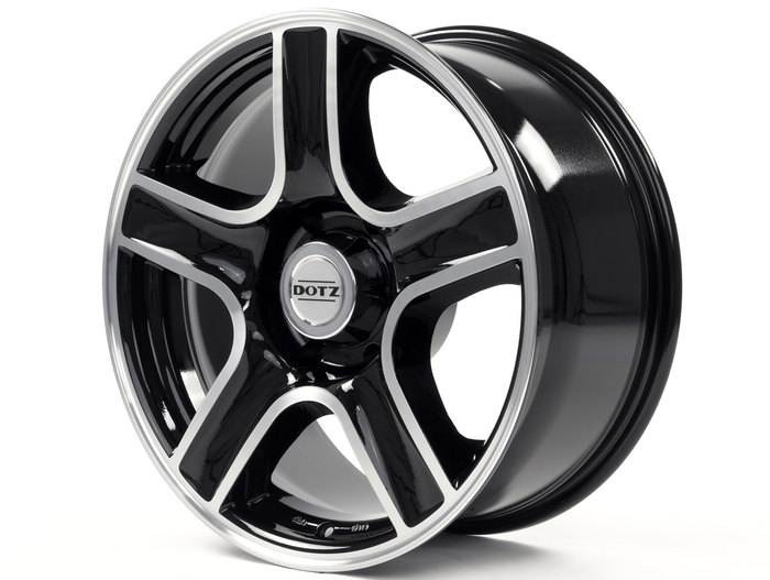 Dotz Hammada Black/polished front