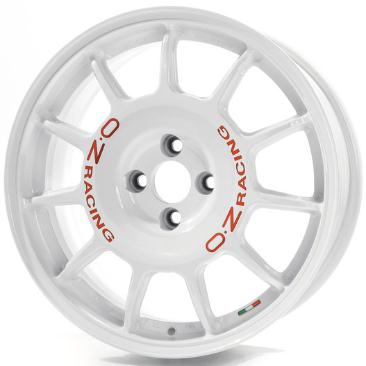 OZ Leggenda Race White + Red Lettering