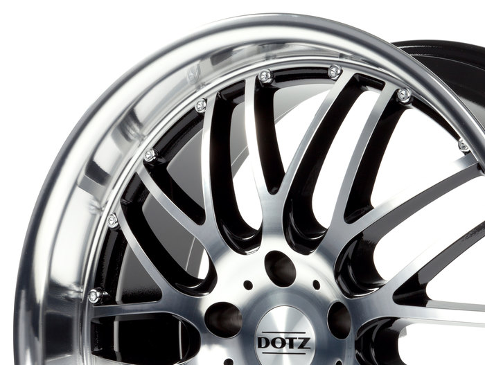 Dotz Mugello Black/polished front