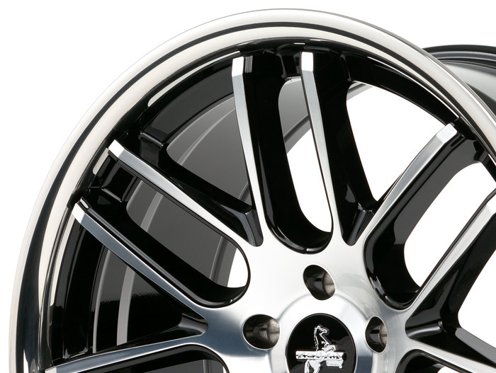 Keskin KT14 Concave black front polish steel lip