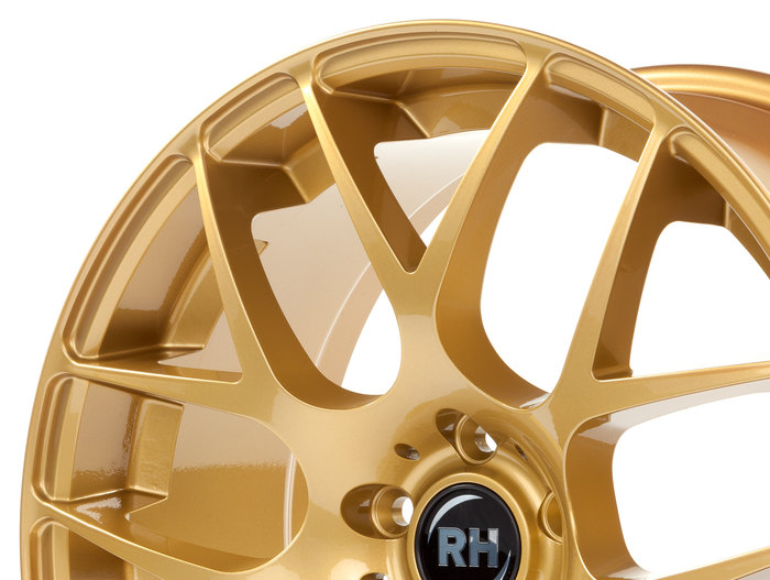 RH Alurad NBU Race racing gold glanz
