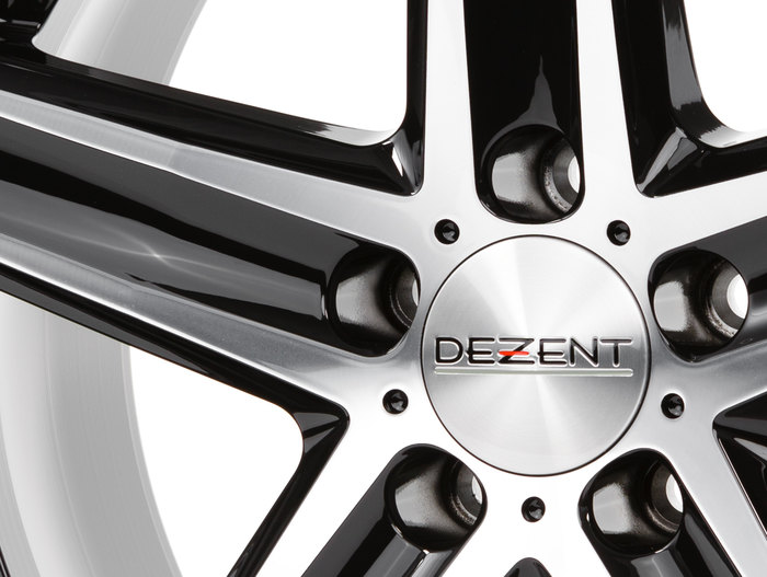 Dezent TG Black/polished front