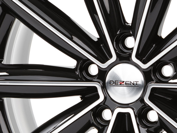 Dezent TM Black/polished front