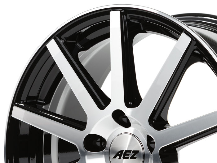 AEZ Straight Black/polished front