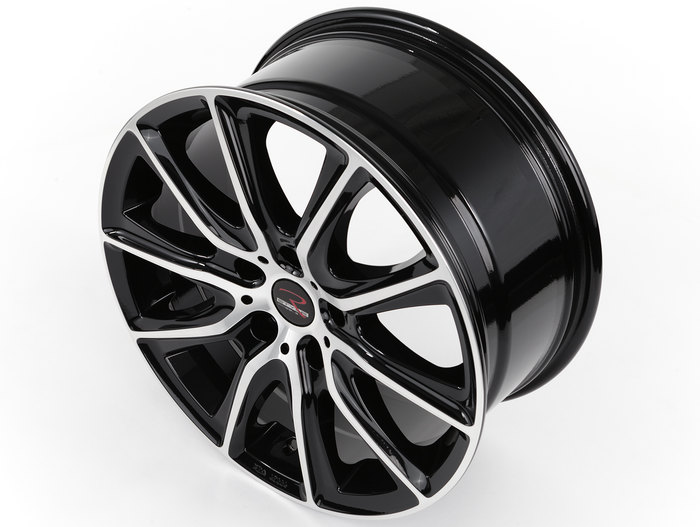 RStyle Wheels SR13 black front polished