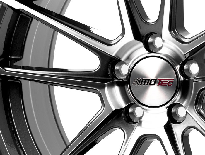 Motec Radical Dark Grey polished