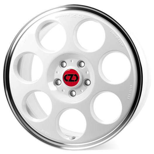 OZ Anniversary 45 Race White Diamond Lip