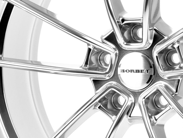 Borbet FF1 stainless polished