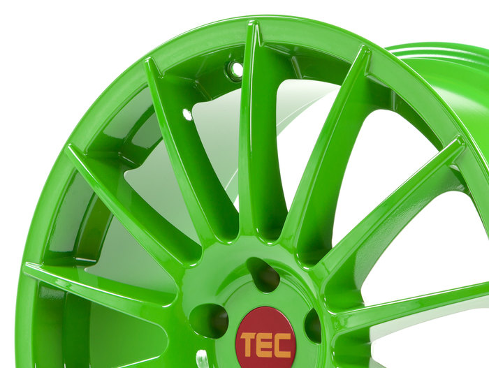 Tec Speedwheels AS2 race light green