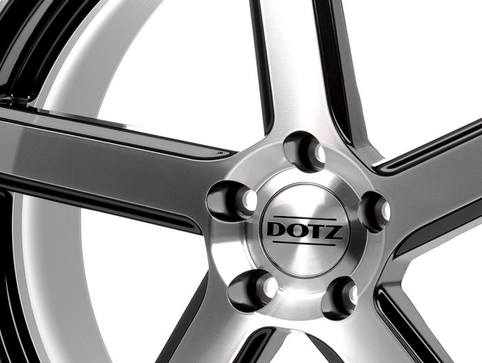 Dotz CP5 Black/polished front