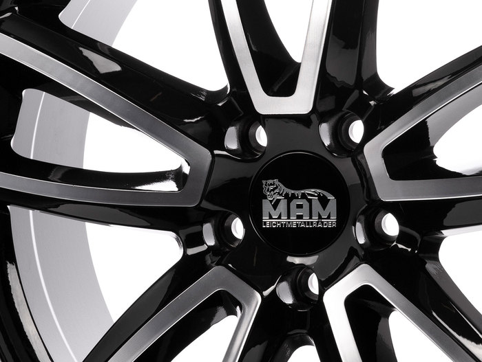 MAM A7 black front polished
