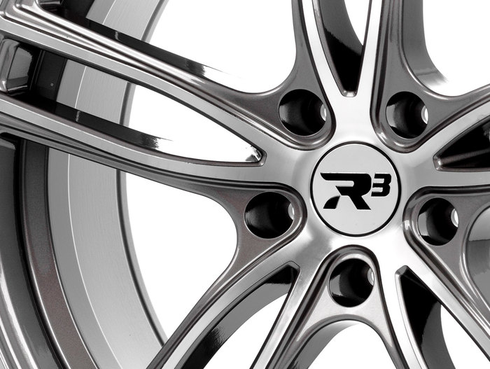 R³ Wheels R3H01.1 anthracite-polished