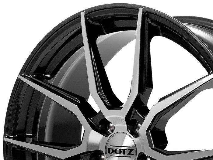 Dotz Misano Gunmetal polished
