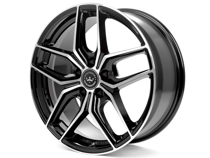 Meisterwerk Wheels MW02 black polished