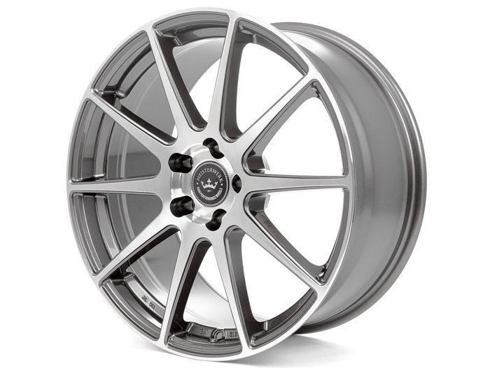 Meisterwerk Wheels MW03 gunmetal polished