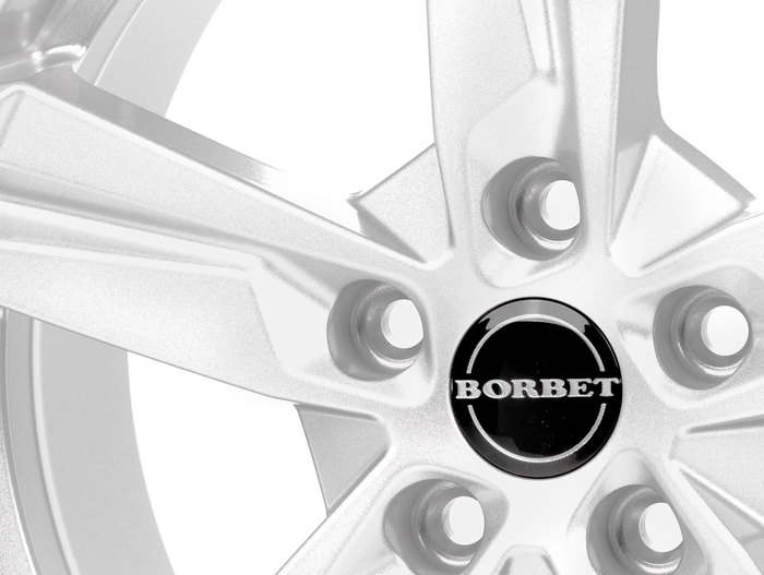 Borbet T10 crystal silver