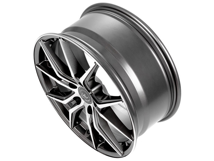 Meisterwerk Wheels MW04 gunmetal polished
